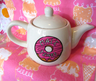 Male Tears Teapot by babypietattoo