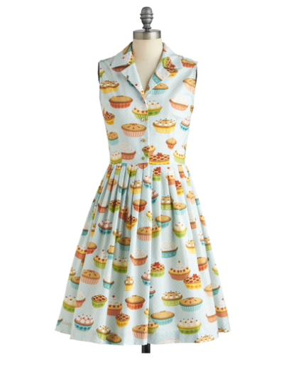 You're In Luck dress in Pie by Modcloth