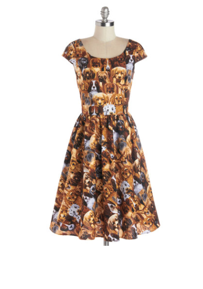 Hooked on a Canine dress by Modcloth