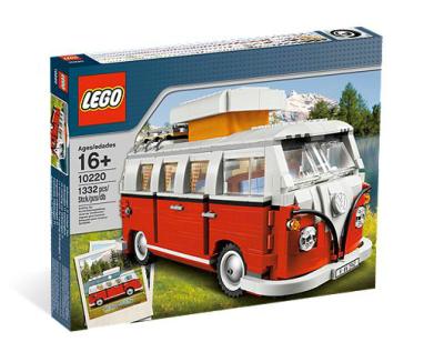 Volkswagon Campervan by Lego