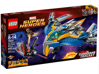 Guardians of the Galaxy Milano Spaceship Rescue by Lego
