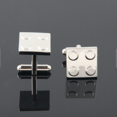 Lego Cufflinks by BingJewelry